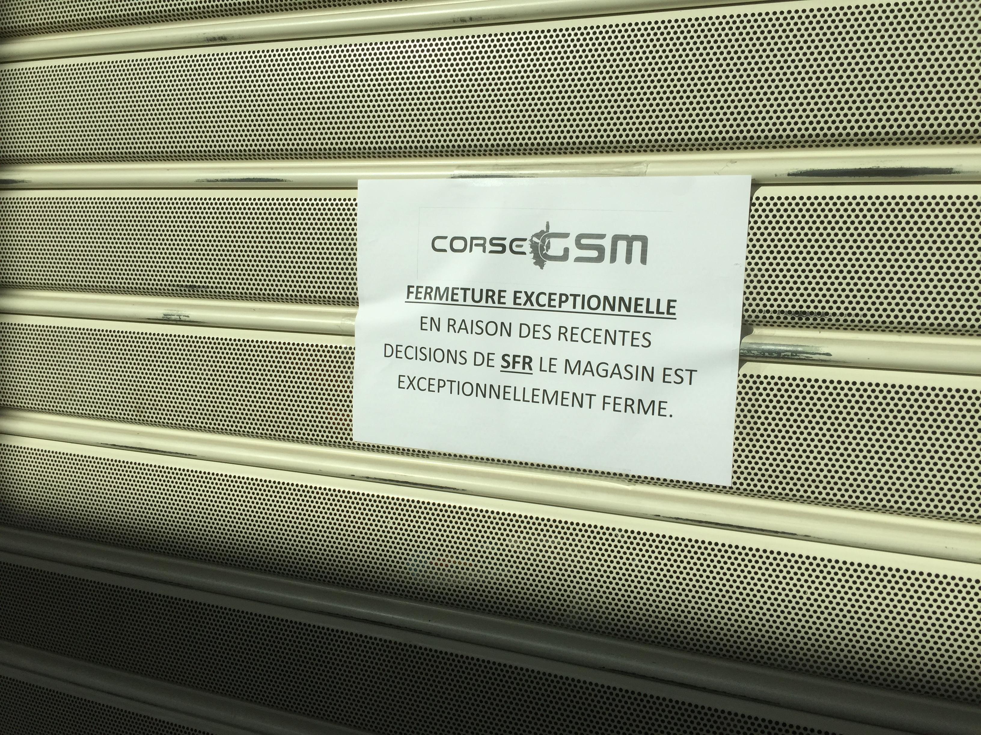 Corse GSM : Une centaine d'emplois menacée