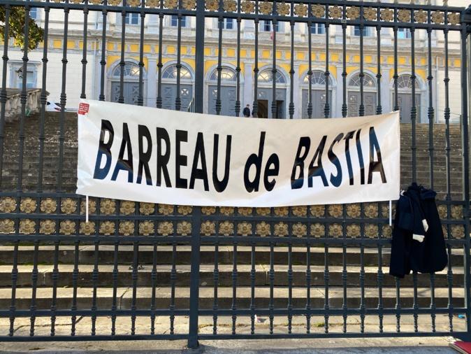 Bastia : La grève des avocats se poursuit