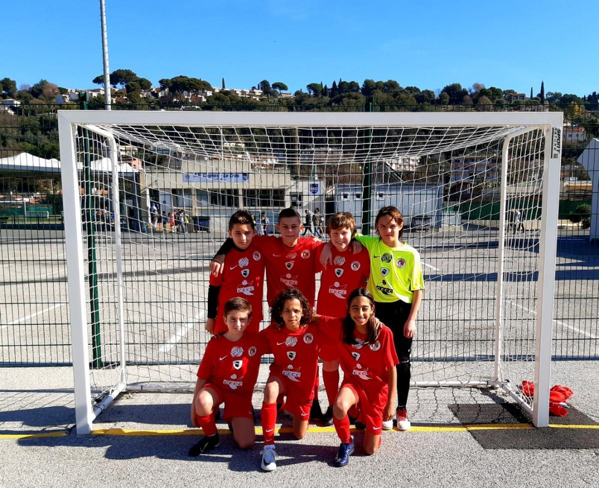 Les U13 de l'USJ Furiani (futsal) vainqueurs du tournoi de Cagnes sur Mer
