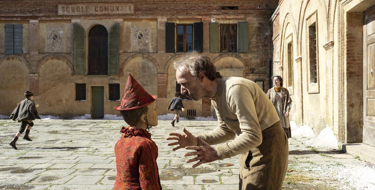 Pinocchio et son créateur Gepetto