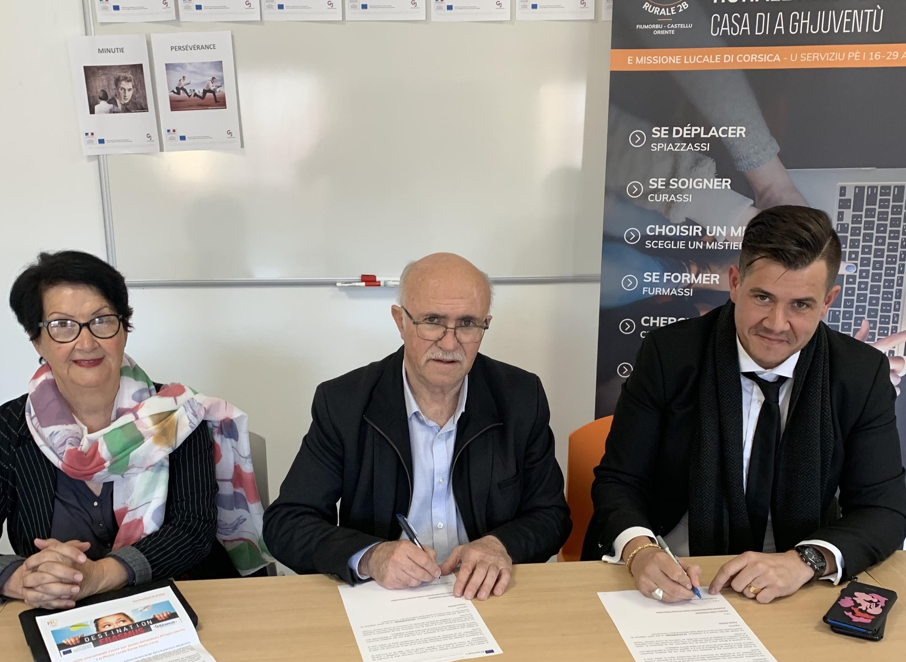 Ghisonaccia : mobilité internationale pour les jeunes demandeurs d'emploi inscrits à la Mission Locale Rurale Haute-Corse