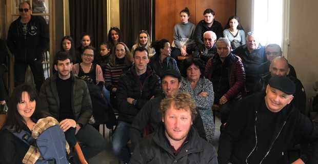 La réunion publique du 29 février.