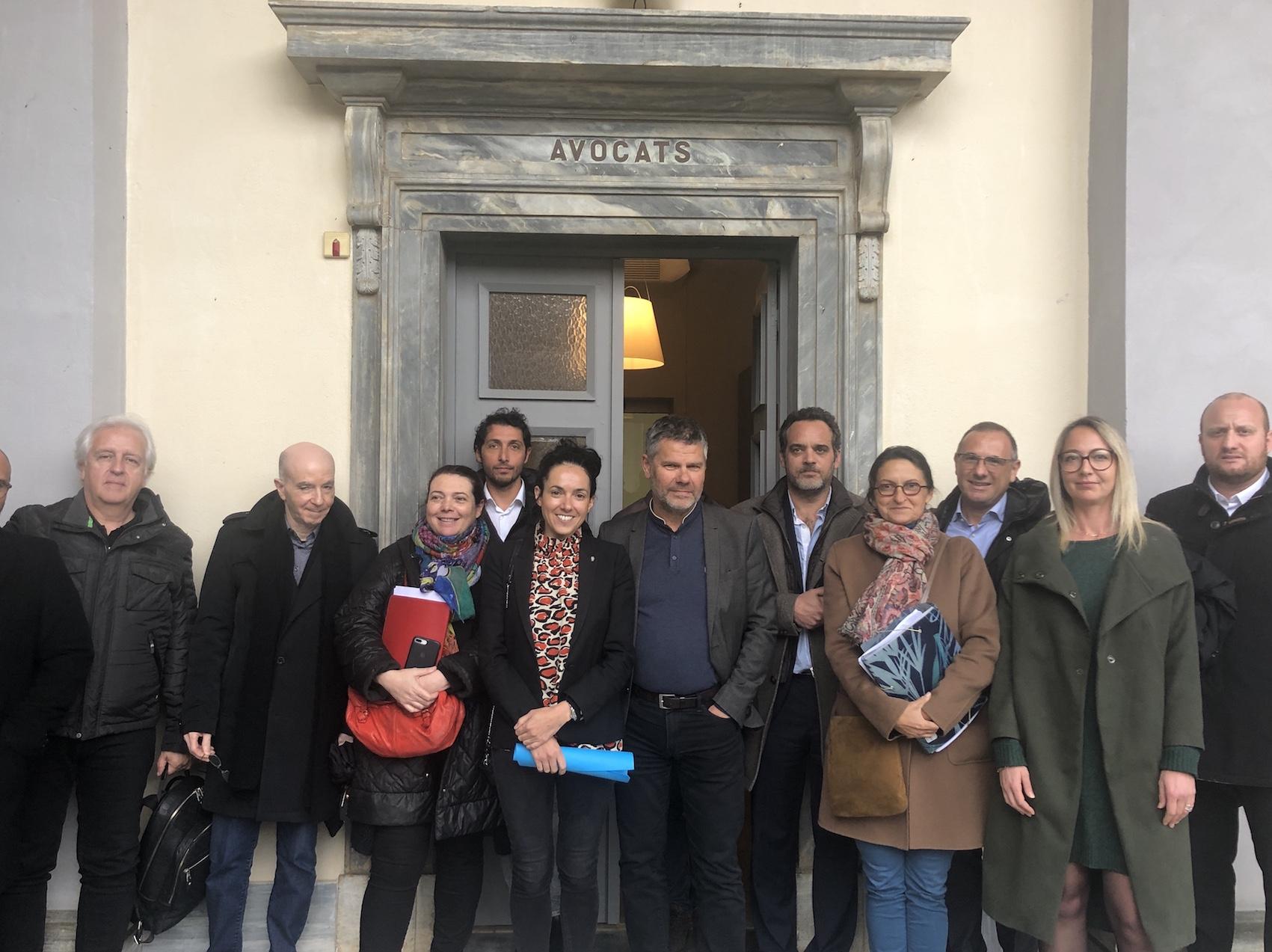 Jean-Paul Eon et Julia Tiberi ont réuni un conseil de l'ordre commun pour décider de la poursuite du mouvement.
