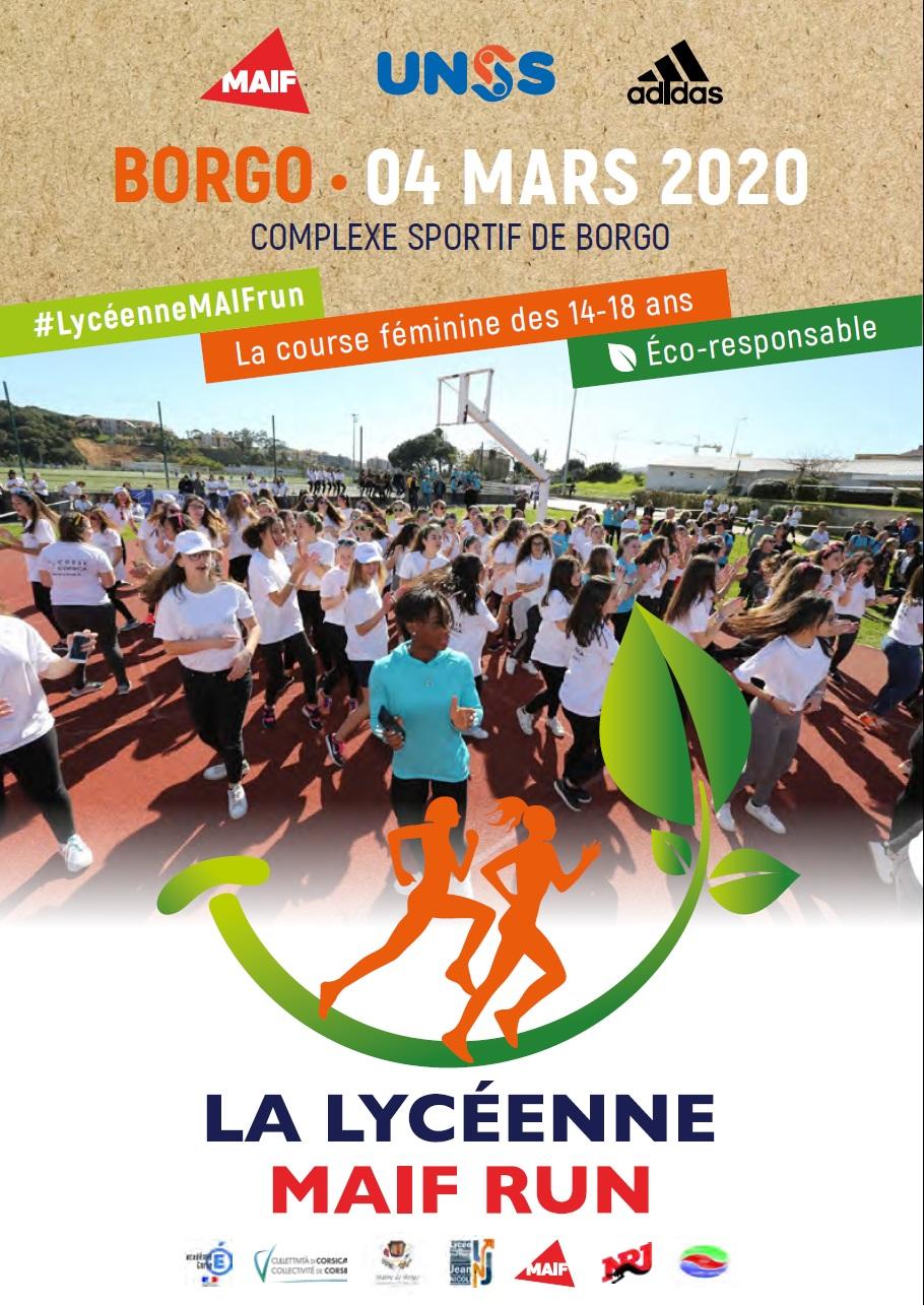 Borgo : Ce mercredi se déroule la «Lycéenne MAIF Run».