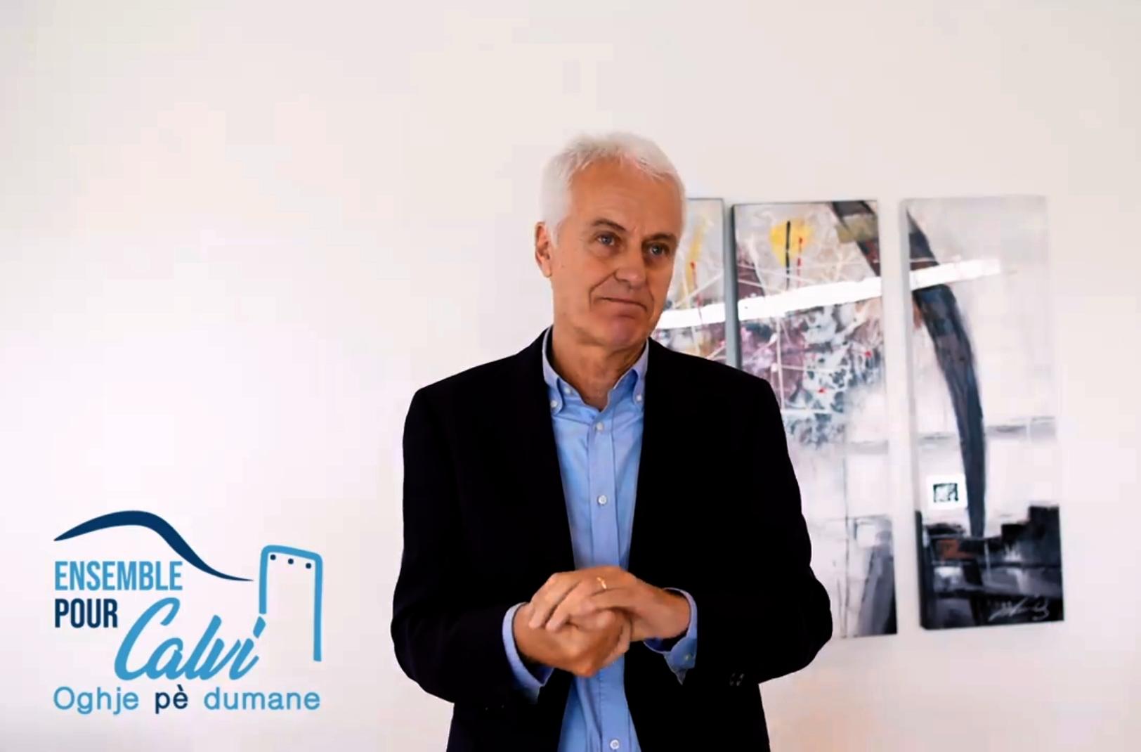 Jean-Louis Delpoux, 1er adjoint au maire sortant délégué à l'urbanisme, et candidat