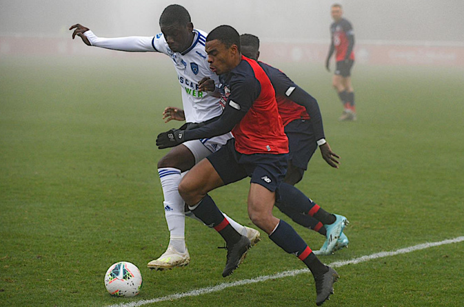Le Sporting s'impose à Drancy (1-2)
