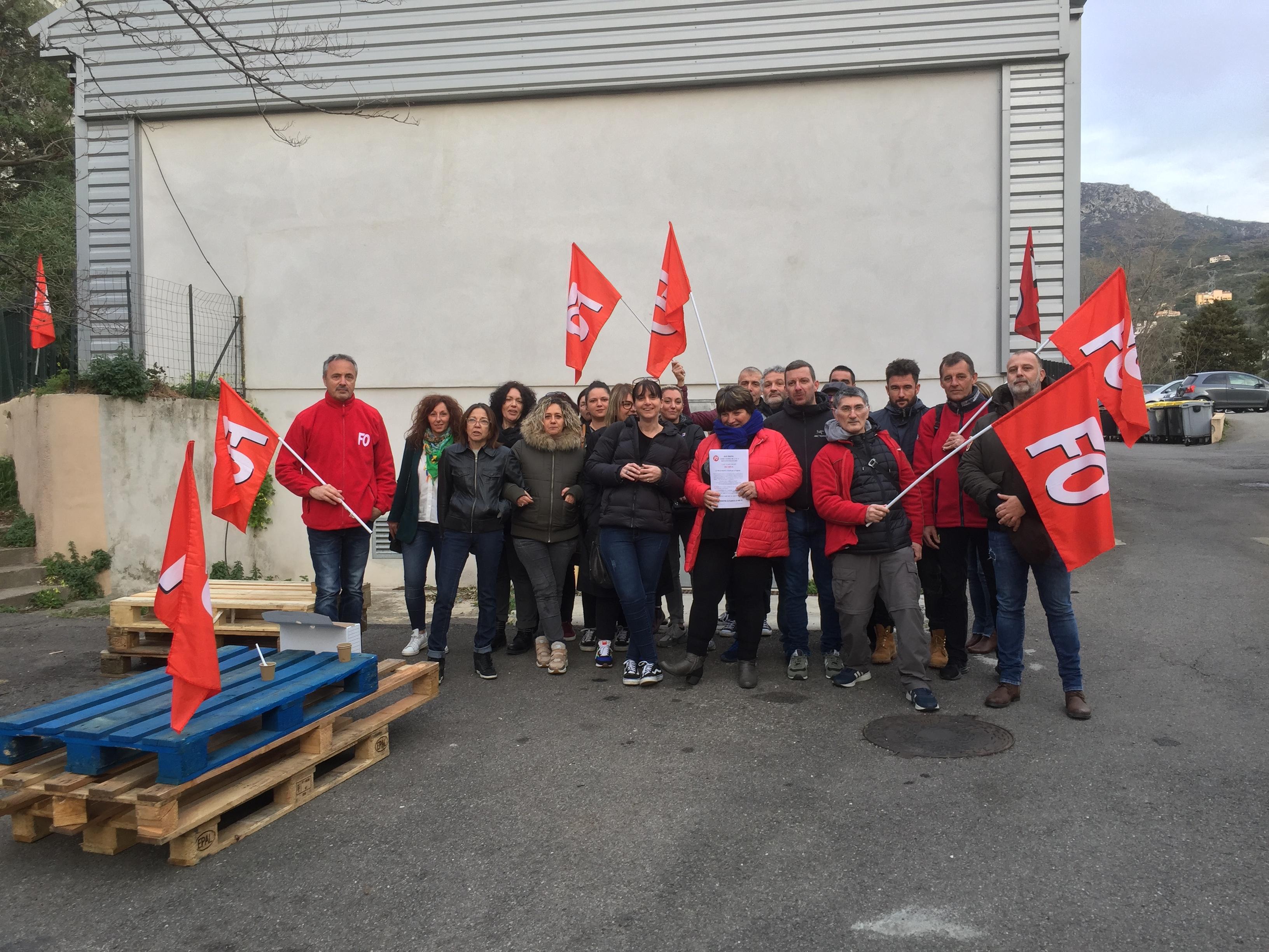 Bastia : Grève à la cuisine centrale