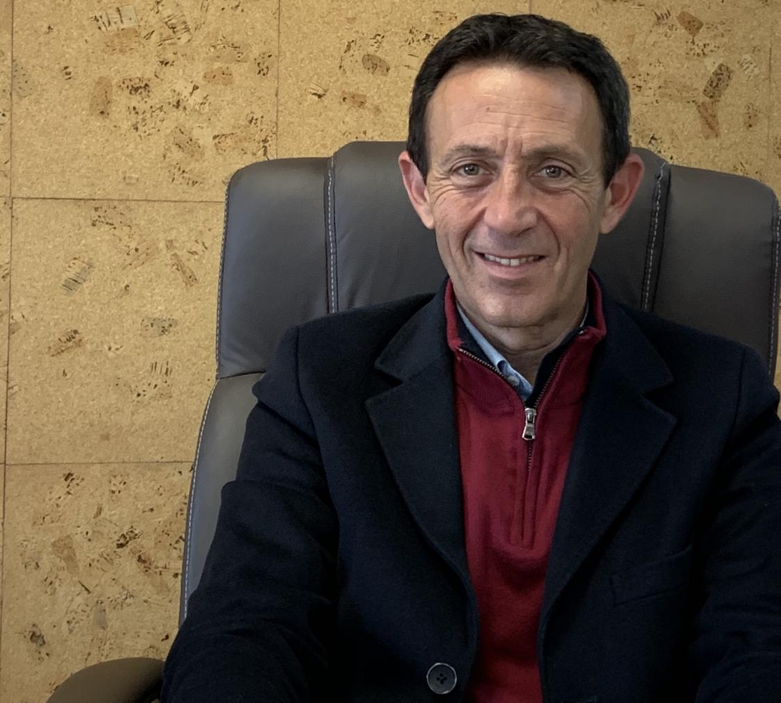 Le maire de Sarrola. Alexandre Sarrola