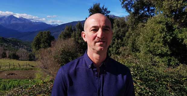 Le Dr Marc Bandittini-Landucci, chef de file de la liste « Bisinchi, Paese d'Avvene », candidat à l'élection municipale de Bisinchi.