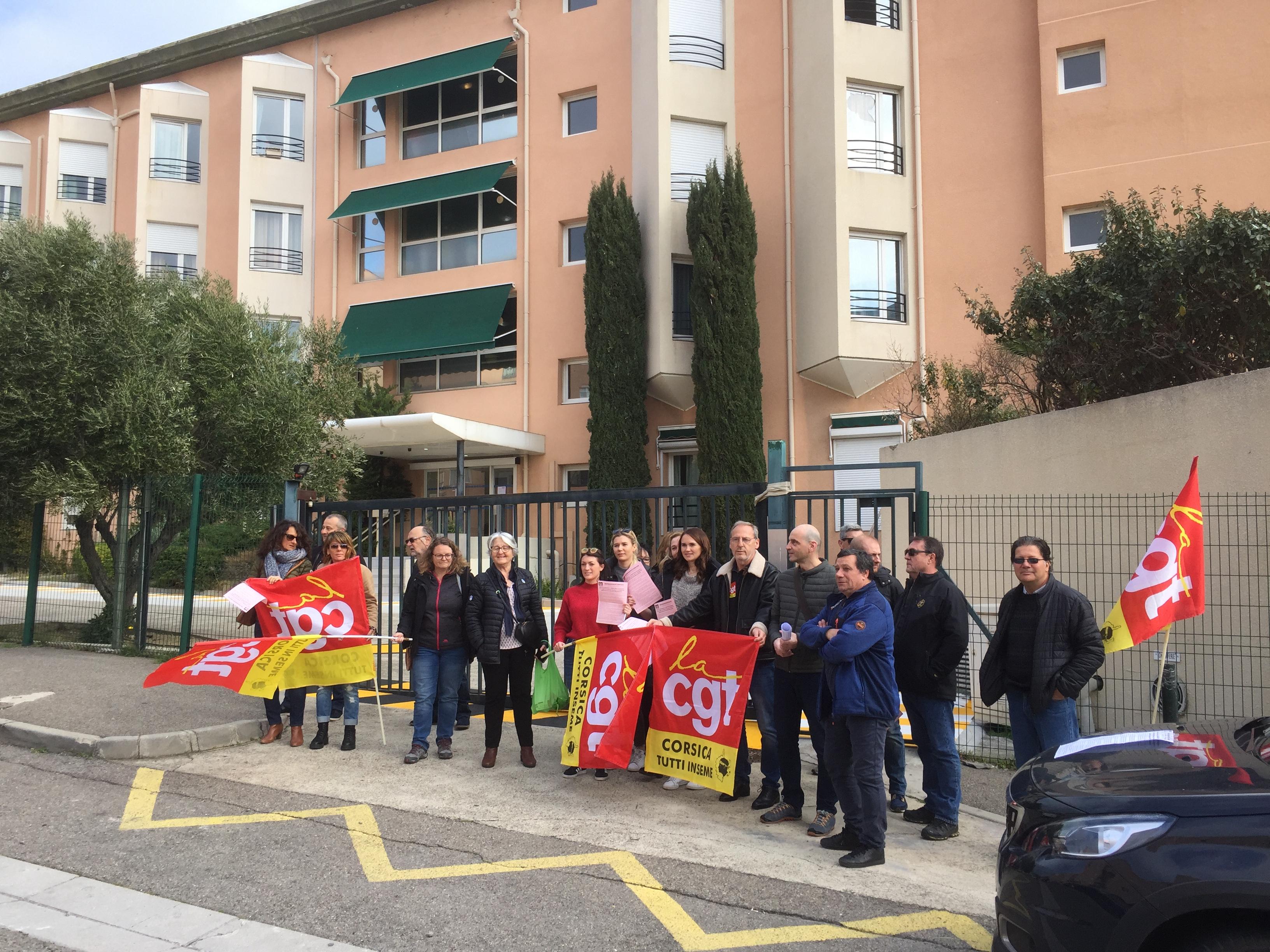 EHPAD Bocognano à Bastia : Vives critiques de la CGT, réplique de la directrice !