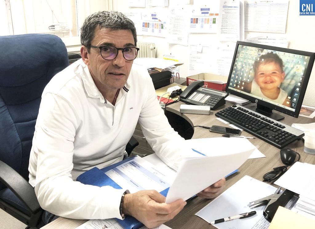 Pascal Derudas, Directeur Adjoint de l'Hôpital d'Ajaccio