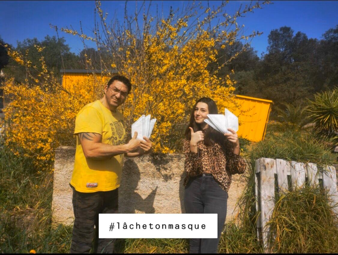 #lâchetonmasque, l'appel à la solidarité lancé par un entrepreneur ajaccien