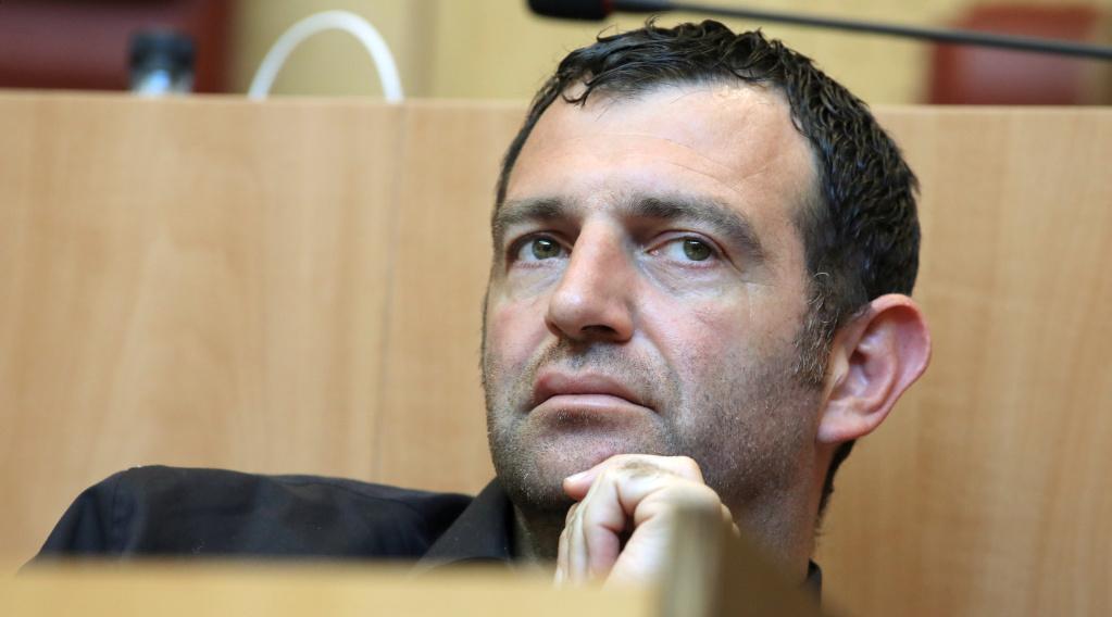 Jean-Charles Orsucci, président du groupe Andà per dumane à l'Assemblée de Corse et maire de Bonifacio. Photo Michel Luccioni.