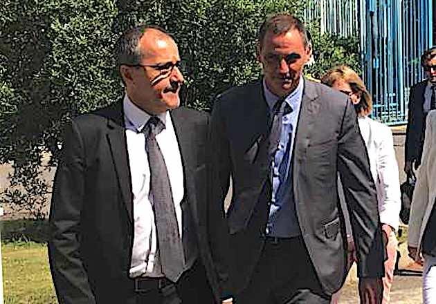 Tests de dépistage et chloroquine : Jean-Guy Talamoni demande à Gilles Simeoni d'engager une action