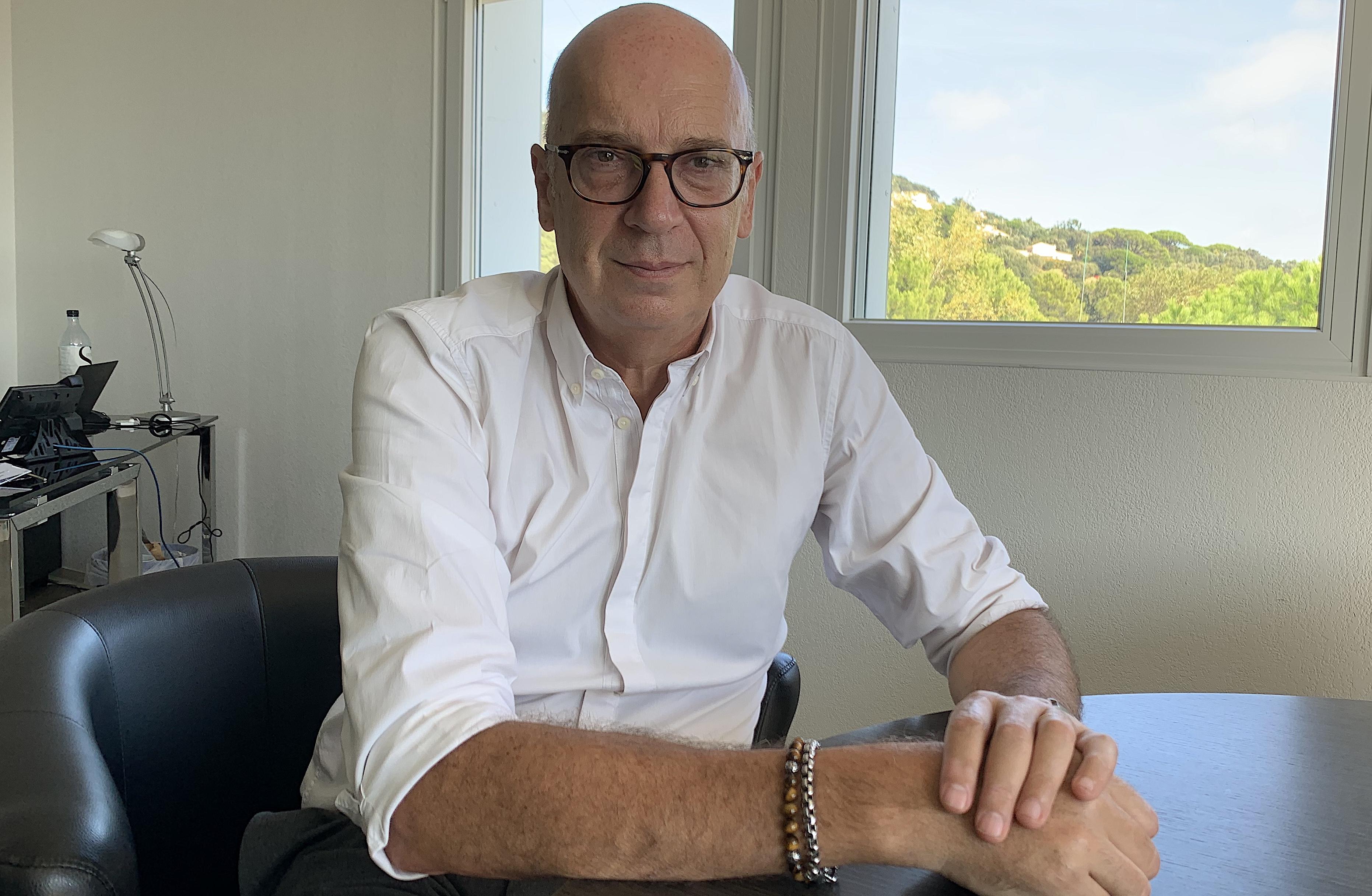 Jean-Mathieu Defour, directeur de l'hôpital de Bastia