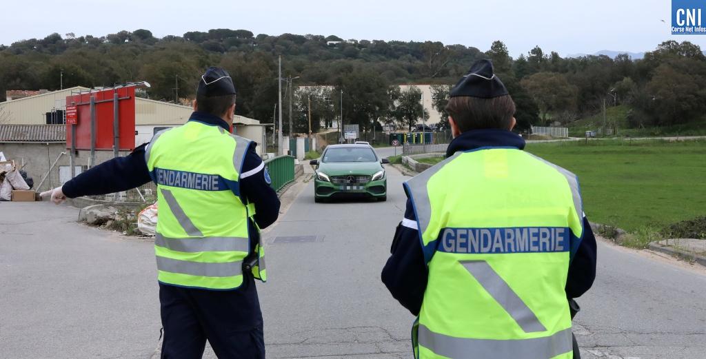 Coronavirus : 50 000 controles et 2000 verbalisations depuis le début du confinement en Corse-du-Sud