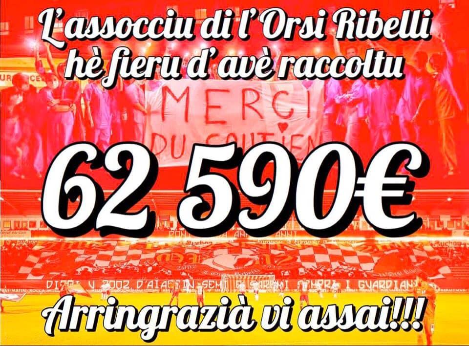 Orsi Ribelli : Un beau don pour le personnel soignant d'Ajaccio