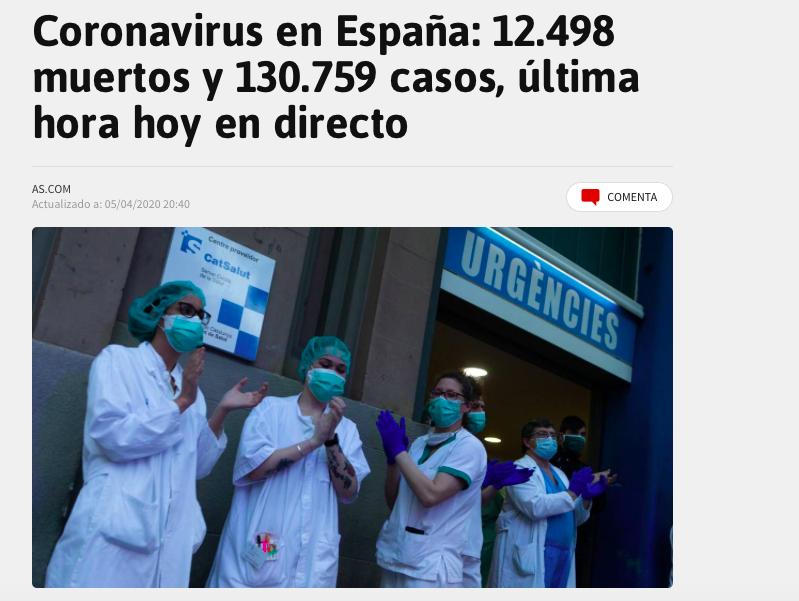 Covid-19. En Espagne le nombre de décès en baisse