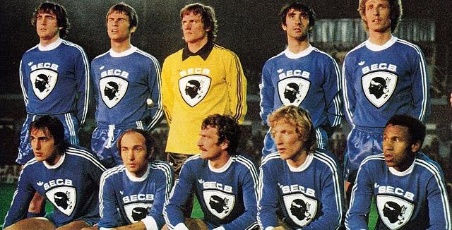 1979/1980 avec le maillot à tête de Maure © DR