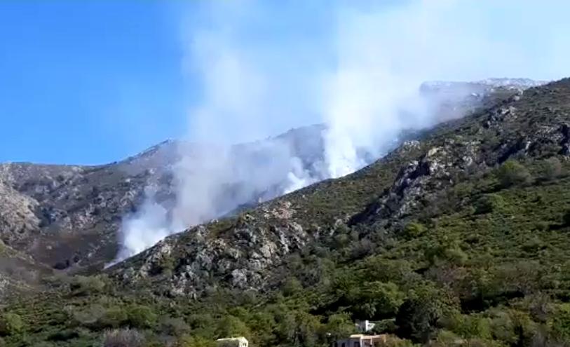 Encore un feu à Ville-di-Paraso : les sapeurs-pompiers de Balagne ont autre chose à faire…