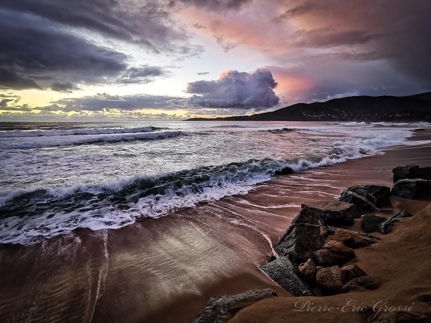 La photo du jour : sur la plage du Santana à Sagone
