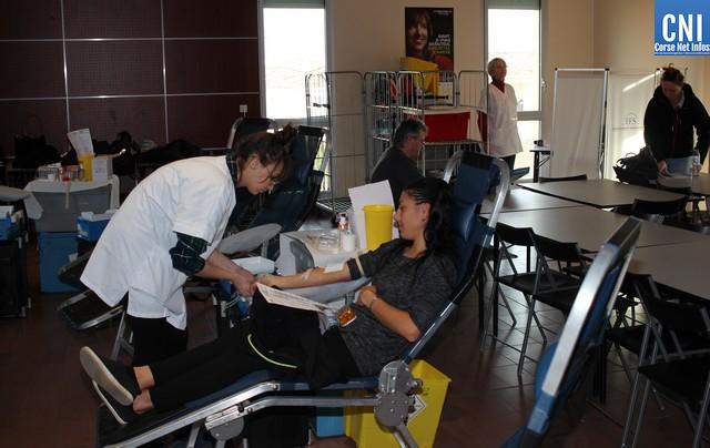 Collecte de sang exceptionnelle à Calvi les 15 et 16 avril