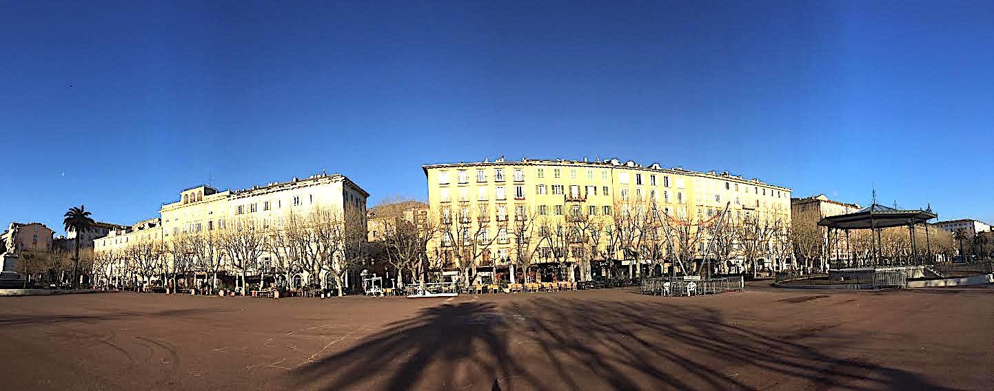 La place Saint-Nicola à Bastia