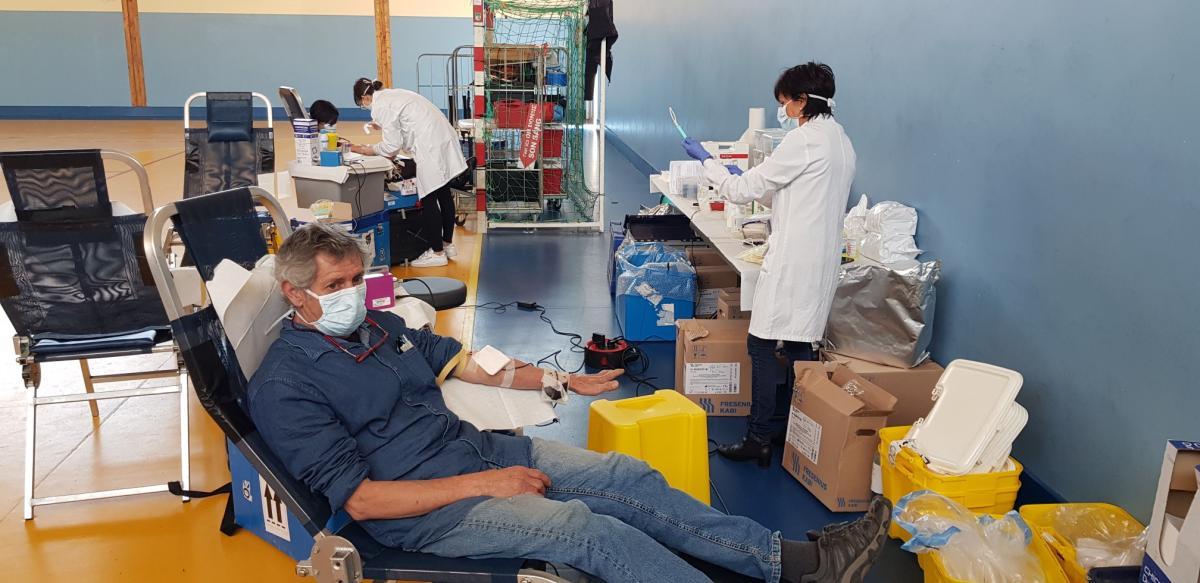 Un succès pour les deux journées de collecte de sang organisées à Calvi