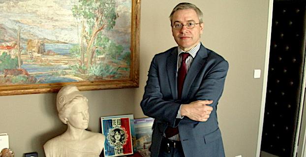 Alain Thirion à l'époque où il était encore préfet de Haute-Corse