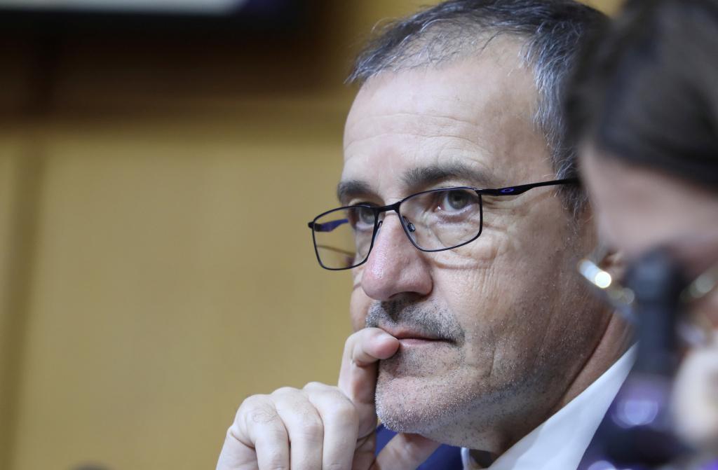 Jean-Guy Talamoni, président de l'Assemblée de Corse. Photo d'archives de Michel Luccioni.