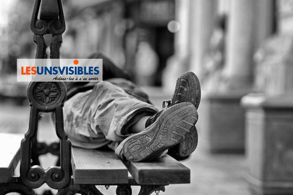 """Coronavirus : pensons aux sans-abri  avec les """"Uns visibles"""""""