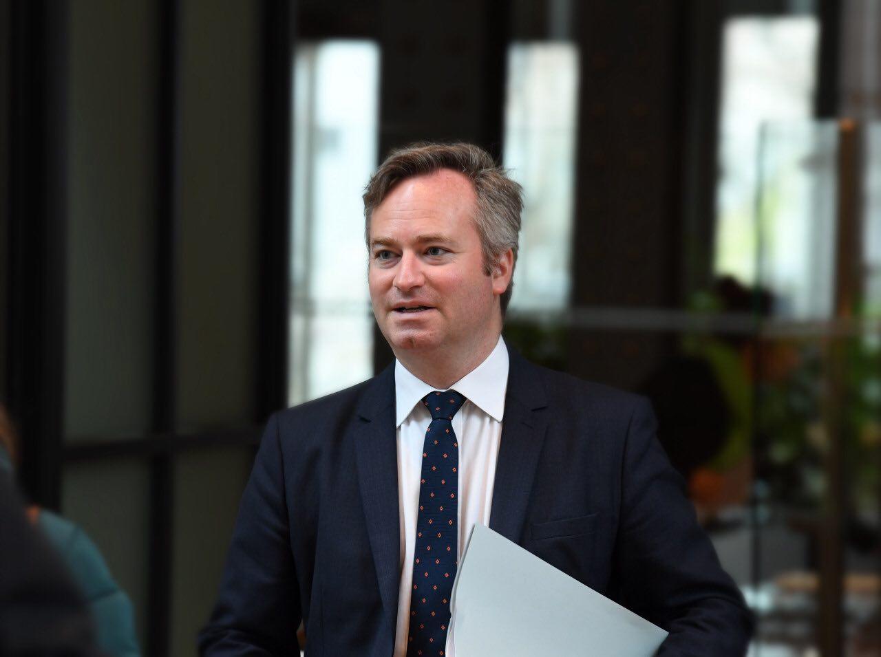 Jean-Baptiste Lemoyne, le secrétaire d'Etat auprès du ministre de l'Europe et des affaires étrangères