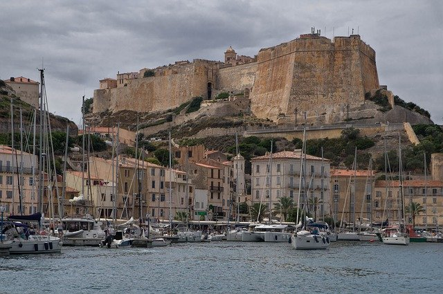 Photo illustration, Port de Bonifacio