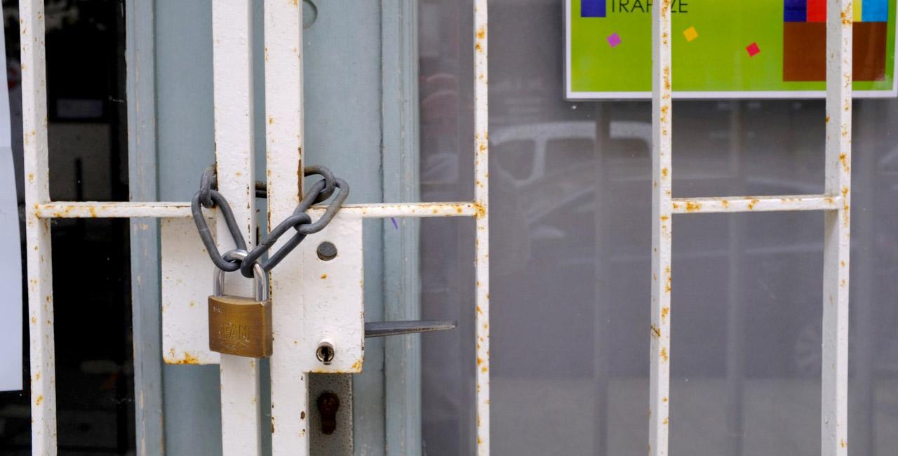 La culture en berne, ici le Centre culturel Una Volta fermé au public