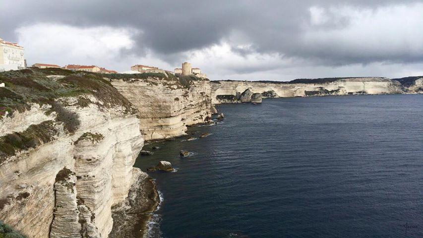 Bonifacio sous la pluie (Photo Marine Robin)