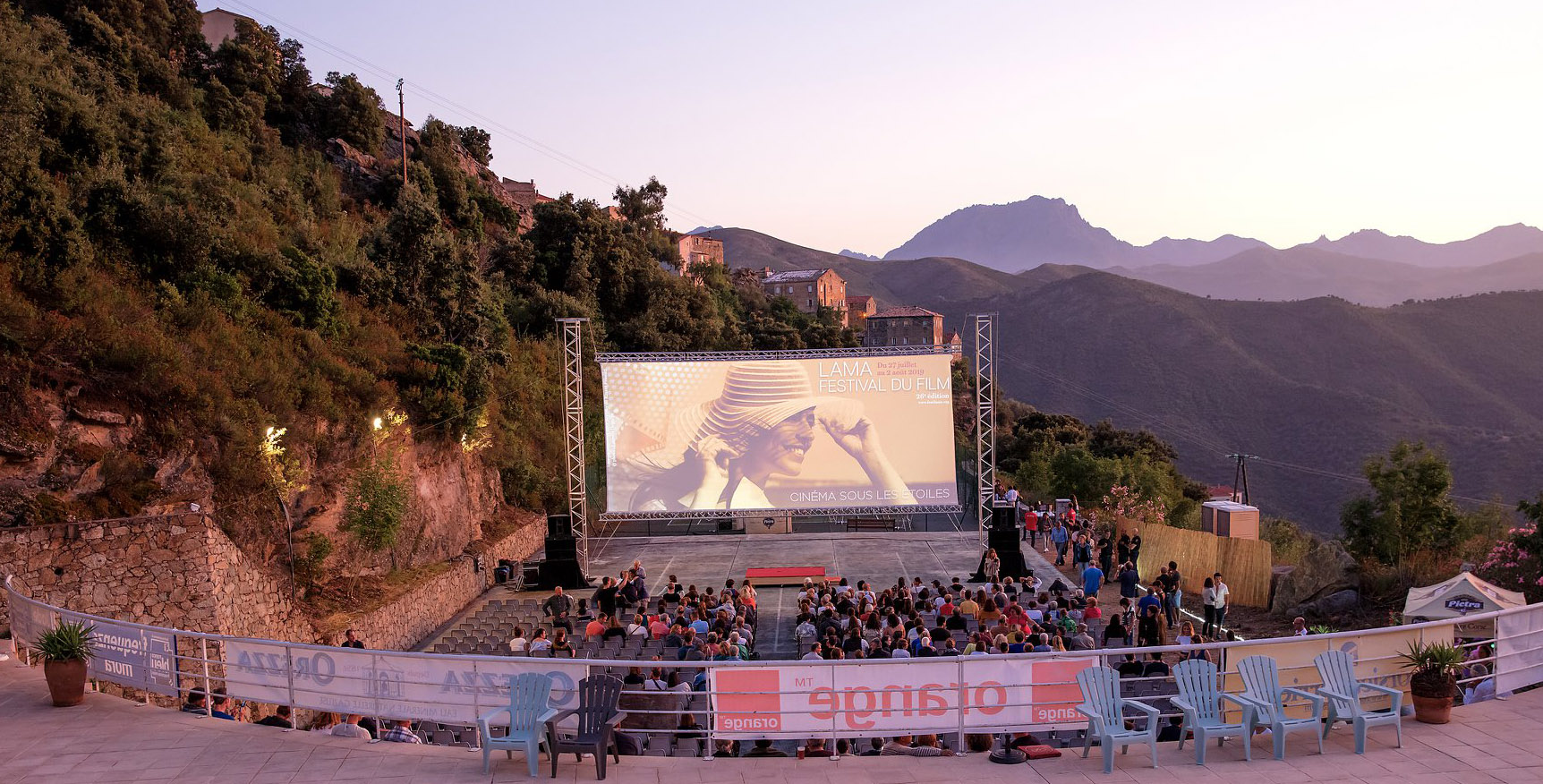 Le site de la piscine - Festival du film de Lama 2019 ©Novellart-2b
