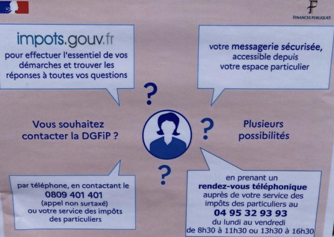 Déconfinement : Tension au centre des impôts de Bastia
