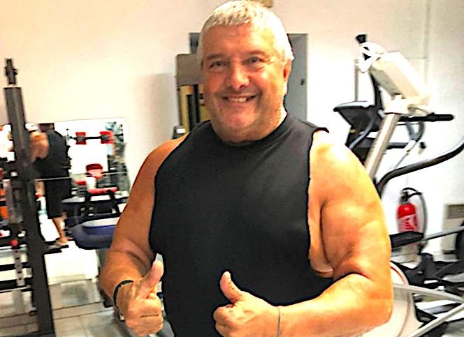 José Murati qui gère une salle de sport boulevard Auguste Gaudin, en centre ville