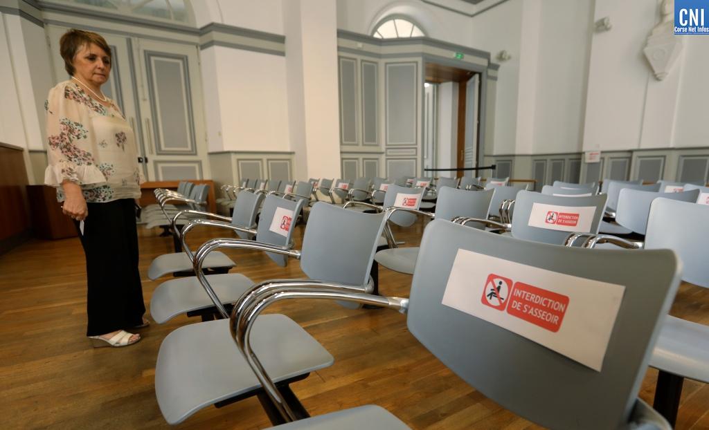 """Déconfinement : reprise """"progressive mais normale"""" au tribunal d'Ajaccio"""