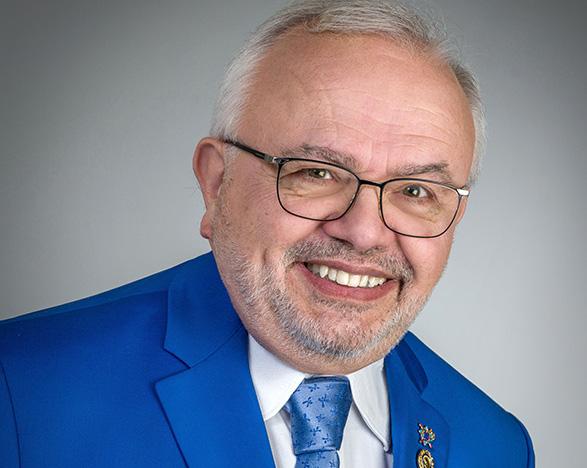 ean-Jacques Titon, gouverneur du Rotary District 1730