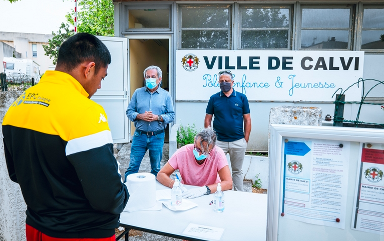 Nouvelle distribution gratuite de masques ce samedi à Calvi