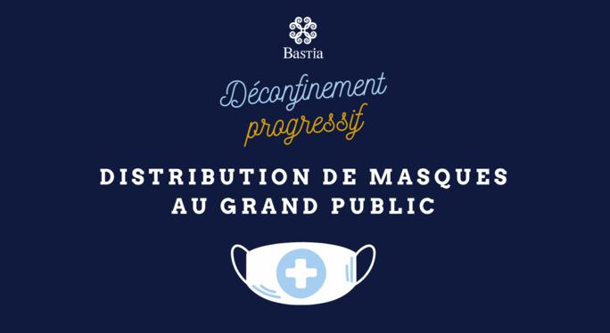 Bastia : la distribution de masques réutilisables aux habitants est lancée