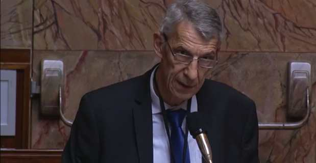 Michel Castellani, député de la 1ère circonscription de Haute-Corse, membre du groupe parlementaire Libertés & Territoires.