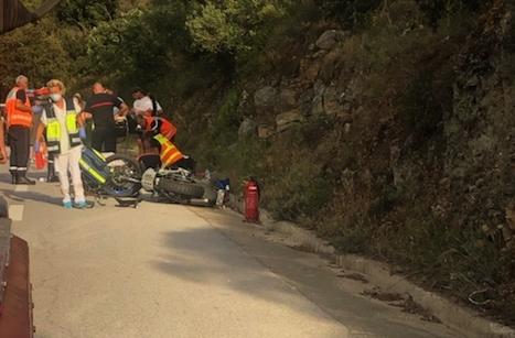 Un motard gravement blessé à Corbara