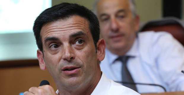 François-Xavier Ceccoli, Maire de San Giuliano, conseiller territorial etprésident de la Fédération LR de la Haute-Corse. Photo Michel Luccioni.