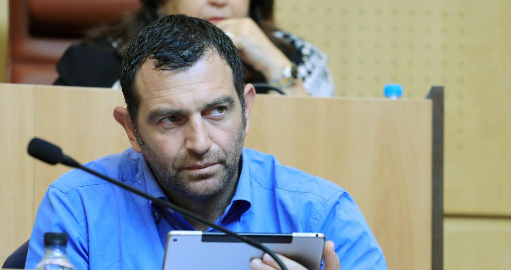 Jean-Charles Orsucci, maire de Bonifacio, conseiller territorial, président du groupe Andà Per Dumane à l'Assemblée de Corse. Photo Michel Luccioni.