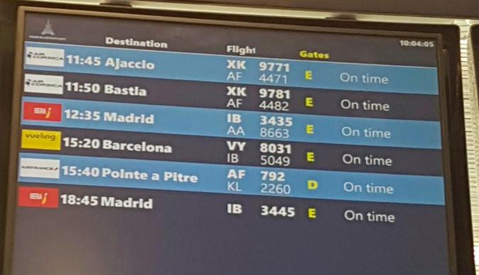 Orly reprend les vols commerciaux à partir du 26 juin