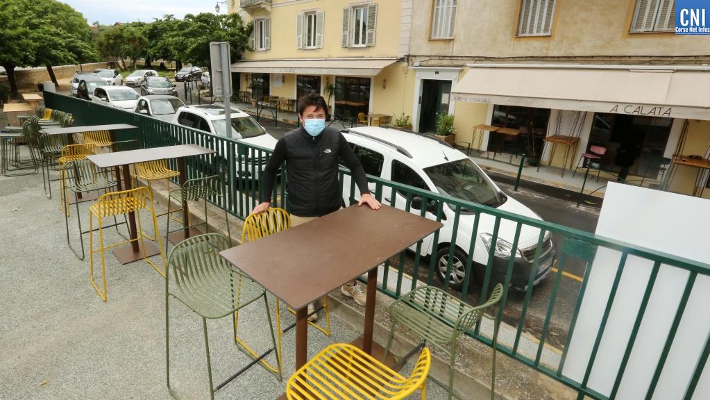 Déconfinement : les cafés, bars et restaurants ajacciens se préparent à ouvrir