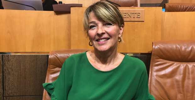 Bianca Fazi, conseillère exécutive en charge de la santé à la Collectivité de Corse et médecin ugentiste à l'hôpital d'Ajaccio.