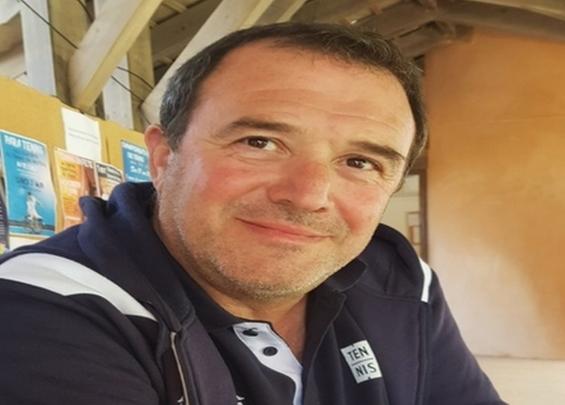 Philippe Medori, président de la Ligue Corse de Tennis